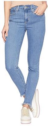 Levi's Womens Womens 721 High Rise Skinny (Matter Of Fact) Women's Jeans