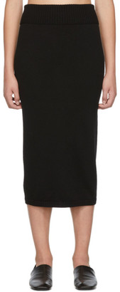 MAX MARA LEISURE Black Uruguay Skirt