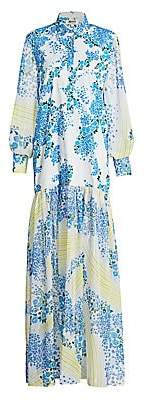 All Things Mochi Women's Alona Printed Maxi Dress