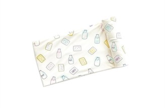 Angel Dear Bamboo Swaddle Blanket - Milk and Cookies