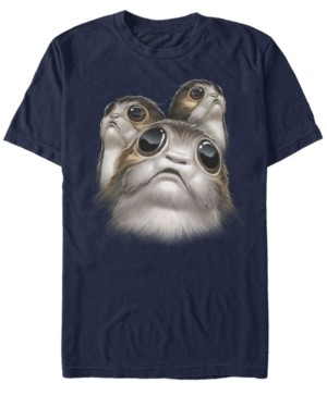 Star Wars Men's Porgs Big Eyes Short Sleeve T-Shirt