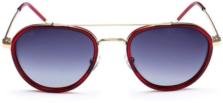 b5a6d38cd0093 Red Lens Aviator Sunglasses - ShopStyle