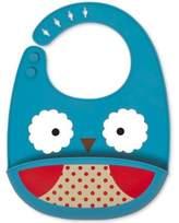 Skip Hop SKIP*HOP® Owl ZOO Fold & Go Silicone Bib