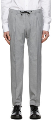 HUGO BOSS Grey Bardon Trousers