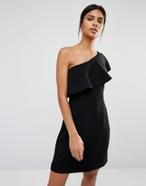Whistles Teagan One Shoulder Dress