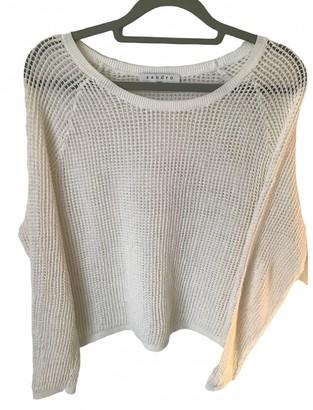 Sandro Spring Summer 2019 White Cotton Knitwear for Women