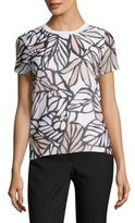 BOSS Eteva Palm-Print Top