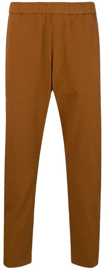 Barena elasticated waist trousers