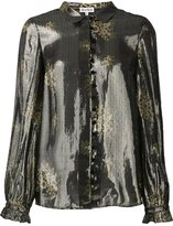 Suno metallic effect shirt - women - Silk/Polyester - 0