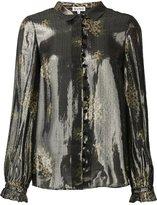 Suno metallic effect shirt - women - Silk/Polyester - 0