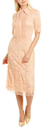 Elisabetta Franchi Lace Midi Dress