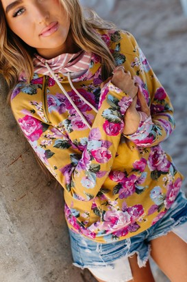 Ampersand Avenue DoubleHood Sweatshirt - Blooming Floral