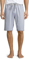Hanro Night & Day Knit Lounge Shorts, Light Gray