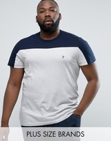 French Connection PLUS T-Shirt with Block Panel