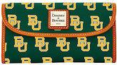 Dooney & Bourke NCAA Baylor Continental Clutch