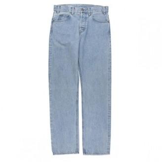 Celine Blue Cotton Jeans