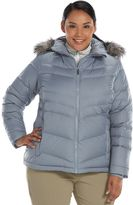 Columbia Plus Size Hooded Down Puffer Jacket