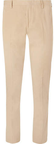 Paul Smith Beige Soho Slim-Fit Tapered Cotton Suit Trousers