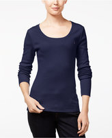 Tommy Hilfiger Long-Sleeve Logo T-Shirt, Only at Macy's