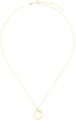 ALIITA 9kt yellow gold Manzana necklace