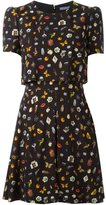 Alexander McQueen 'Obsession' print dress - women - Silk/Viscose - 38
