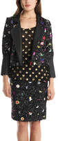 Suno Beaded Flower Jacket