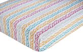 Zutano Hearts Fitted Sheet, (Discontinued by Manufacturer)