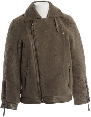N. Meotine \N Khaki Fur Jackets