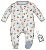 Magnificent Baby Magnetic Me Unisex Buttery Soft Modal Baby Footie Magnet Close Footed Sleeper Pajamas