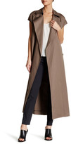 Helmut Lang Cap Sleeve Trench Coat