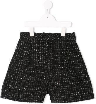 Familiar Tweed Shorts