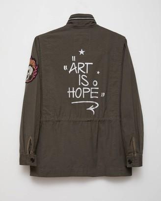 Zadig & Voltaire Jormi x Art Is Hope Kayaka Mili Jacket