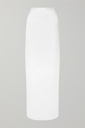 CAMI NYC The Bobbi Silk-charmeuse Maxi Skirt - White