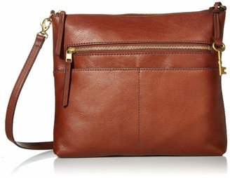 Fossil Women's Fiona Crossbody Brown One Size