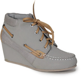 Bamboo Gray & Natural Paddy Bootie