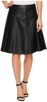 MICHAEL Michael Kors Fit and Flare Pleat Skirt Women's Skirt