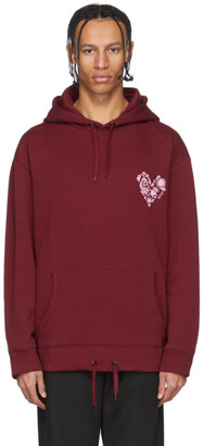 Kenzo Red Limited Edition Valentines Day Hoodie