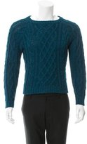 Patrik Ervell Baby Alpaca Cable Knit Sweater
