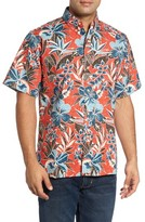 Reyn Spooner Men's Biscus Paradise Classic Fit Print Sport Shirt