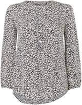 Marella Bice printed button blouse