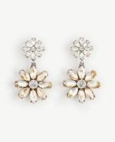 Ann Taylor Flower Drop Earrings