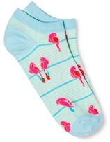 Xhilaration Women's Low Cut Fashion Socks Turquoise