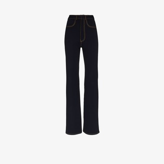 Alled Martinez High-Waisted Jeans