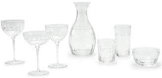 Ralph Lauren Dagny Crystal Double Old Fashioned Glass