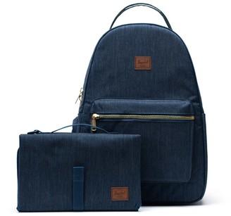 Herschel Nova Sprout Backpack - Indigo Denim Crosshatch