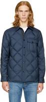 Rag & Bone Navy Mallory Shirt Jacket