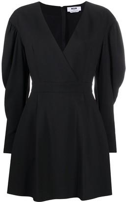 MSGM Mini Wrap Dress