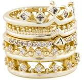 Kendra Scott Violette Ring Set of Five