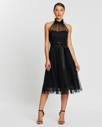 Marchesa Spot Cocktail Dress
