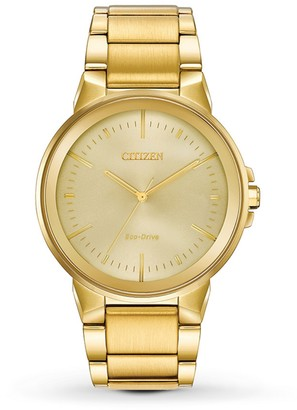 Citizen Men's Axiom Gold-Tone Stainless Steel Watch, 43mm
